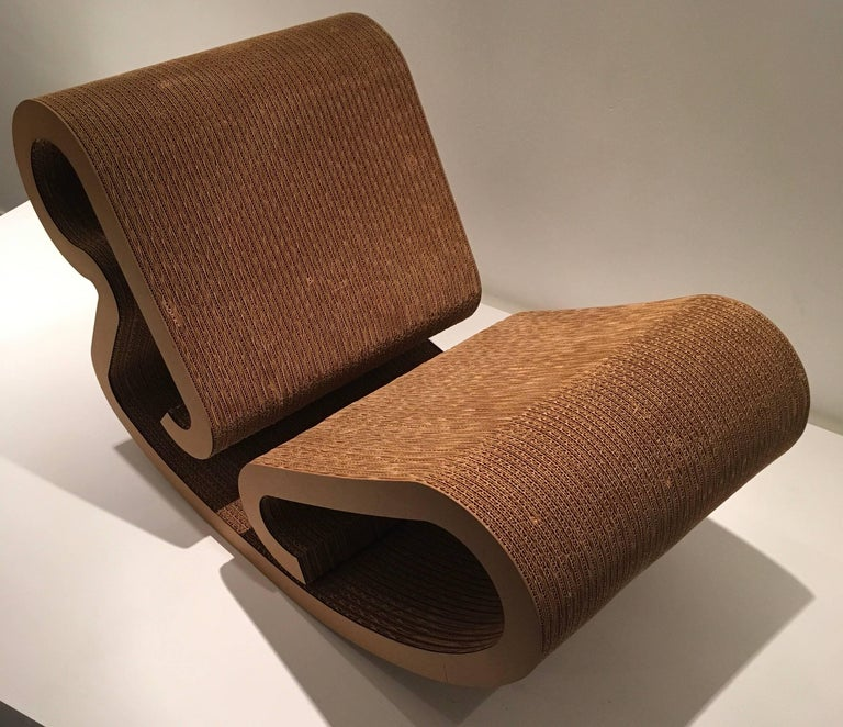 "Frank Gehry ""Easy Edges"" Rocking Chair 4"