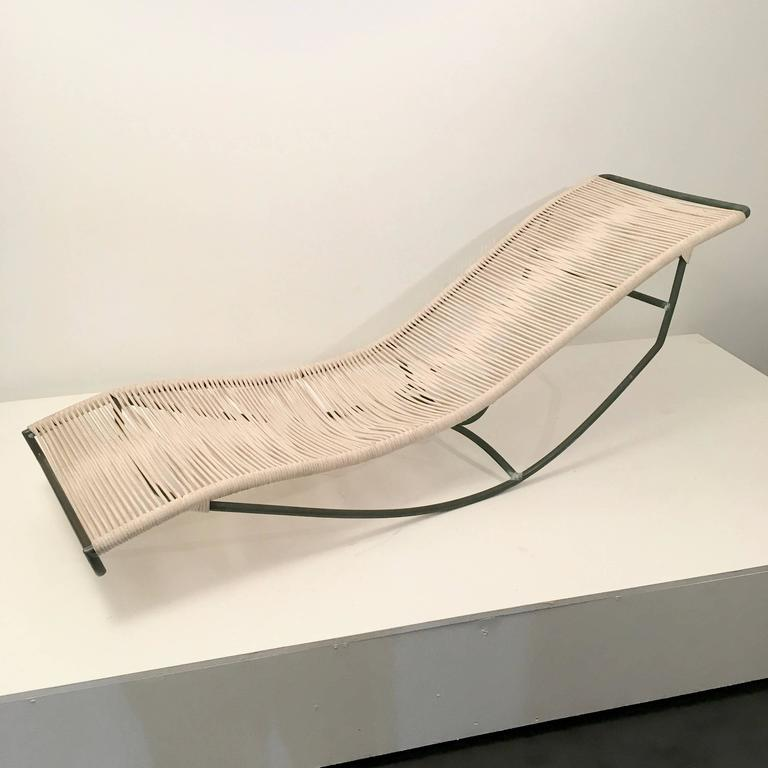Mid-20th Century Walter Lamb Rocking Chaise For Sale