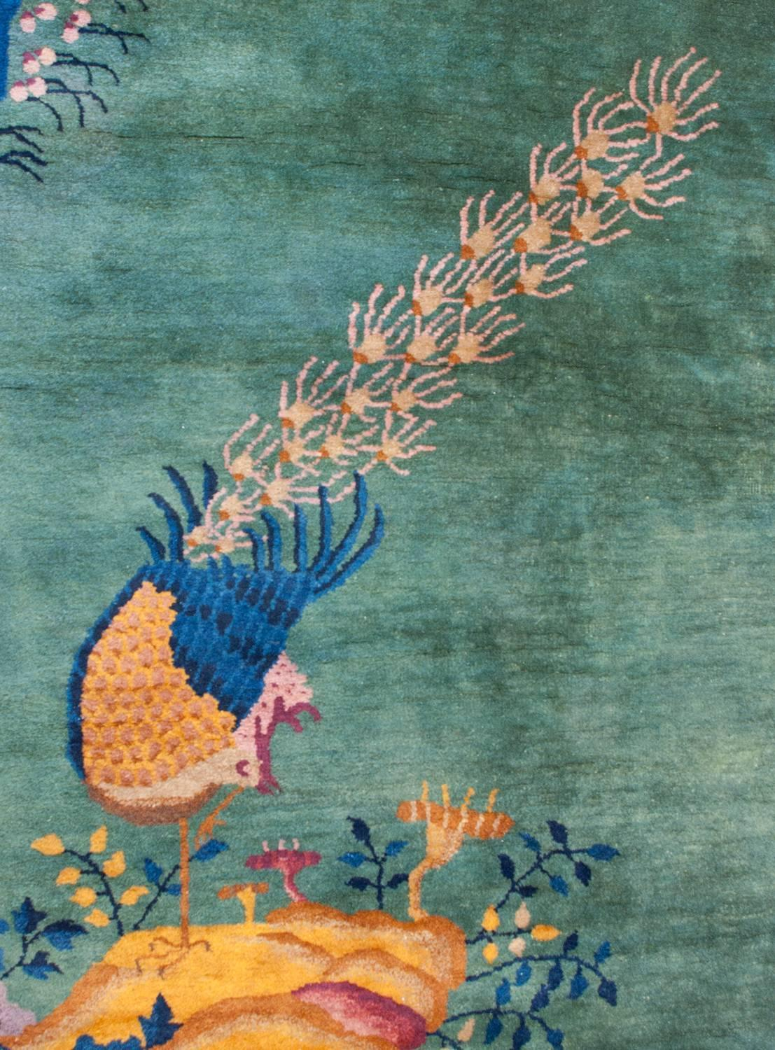 Chinese Art Deco Rug For Sale At 1stdibs