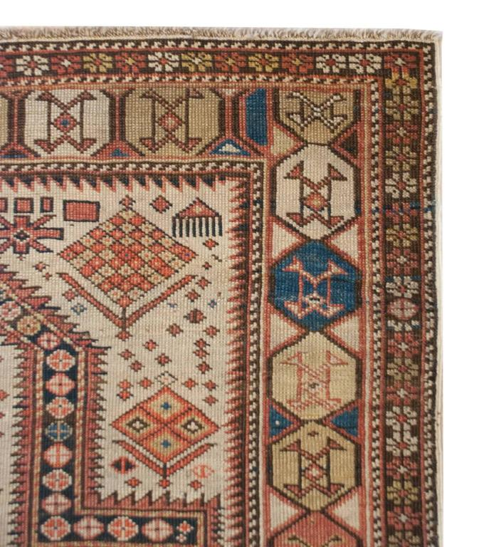 Outstanding 19th Century Shirvan Prayer Rug For Sale At