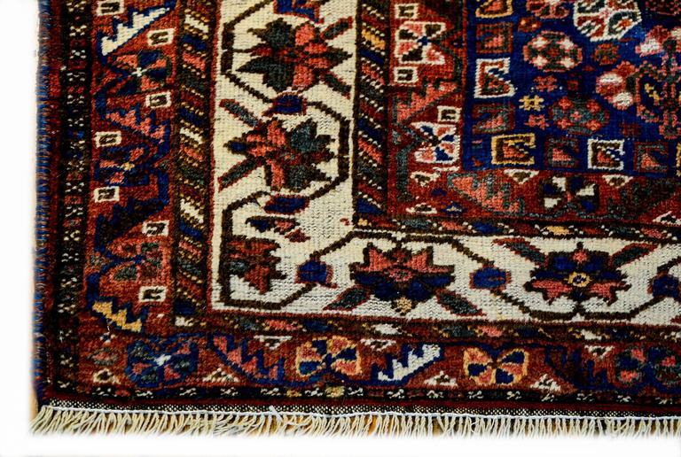 Persian Outstanding Early 20th Century Ghashghaei Rug For