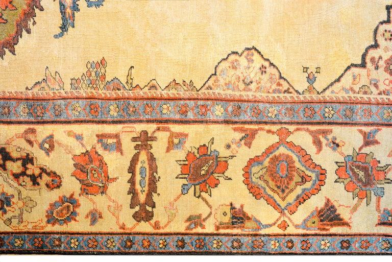 Unbelievable 19th Century Ziegler Sultanabad Rug For Sale