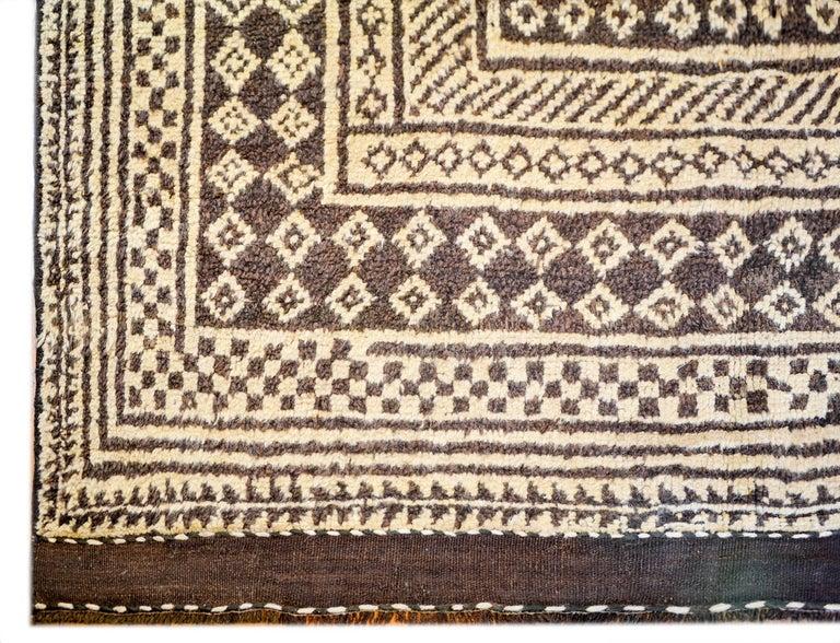 Persian Fantastic 19th Century Gabbeh Rug For Sale