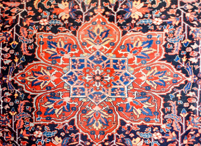 Persian Stunning Vintage Heriz Rug For Sale