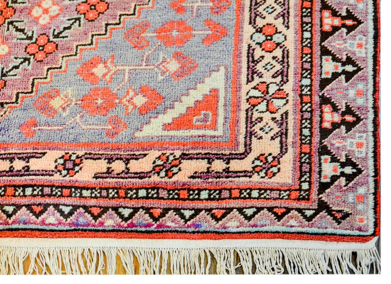 Central Asian Early 20th Century Samarkand Rug For Sale