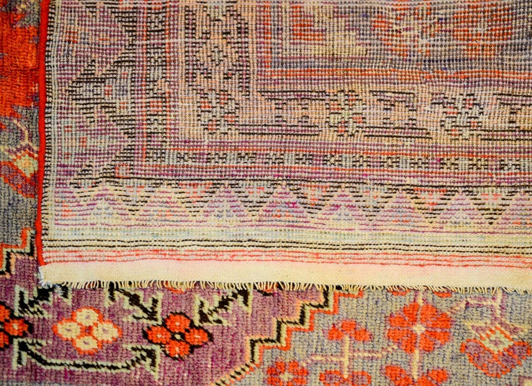 Early 20th Century Samarkand Rug In Good Condition For Sale In Chicago, IL