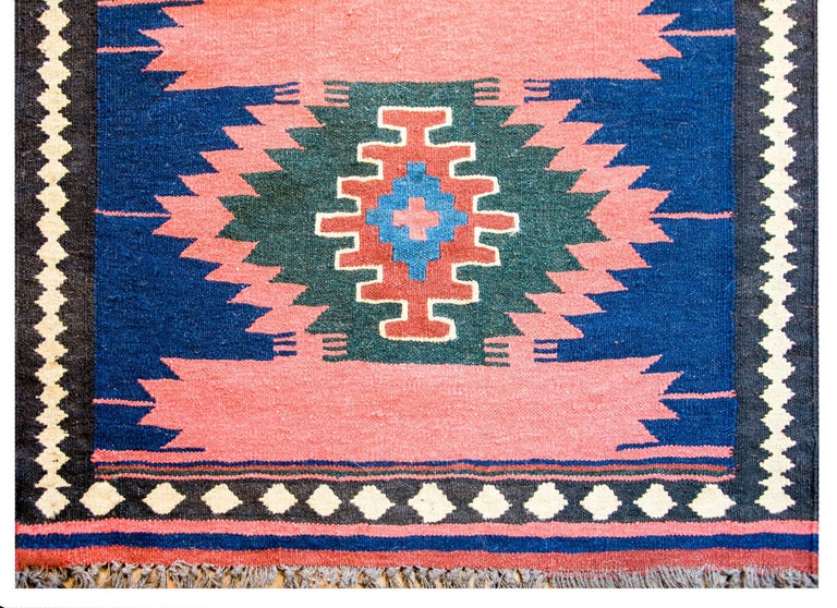 Persian Early 20th Century Bakhtiari Runner For Sale