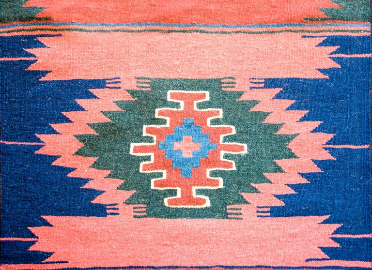Vegetable Dyed Early 20th Century Bakhtiari Runner For Sale