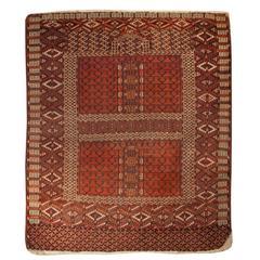 19th Century Engsi Prayer Rug