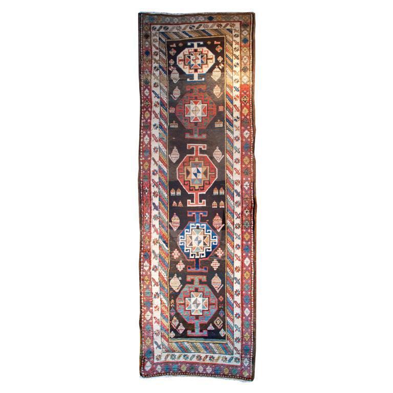 19th Century Azari Carpet Runner For Sale At 1stdibs