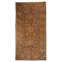 19th Century Central Asian Khotan Carpet