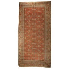 Early 20th Century Central Asian Samarghand Carpet