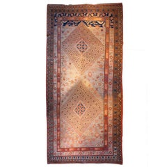 Early 20th Century Central Asian Khotan Carpet