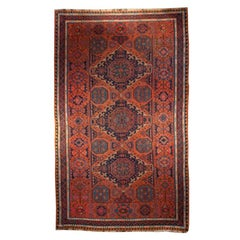 Early 20th Century Russian Kilim Carpet