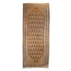 Early 20th Century Kurdish Senneh Carpet Runner