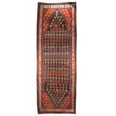 Early 20th Century Varamin Kilim Carpet Runner