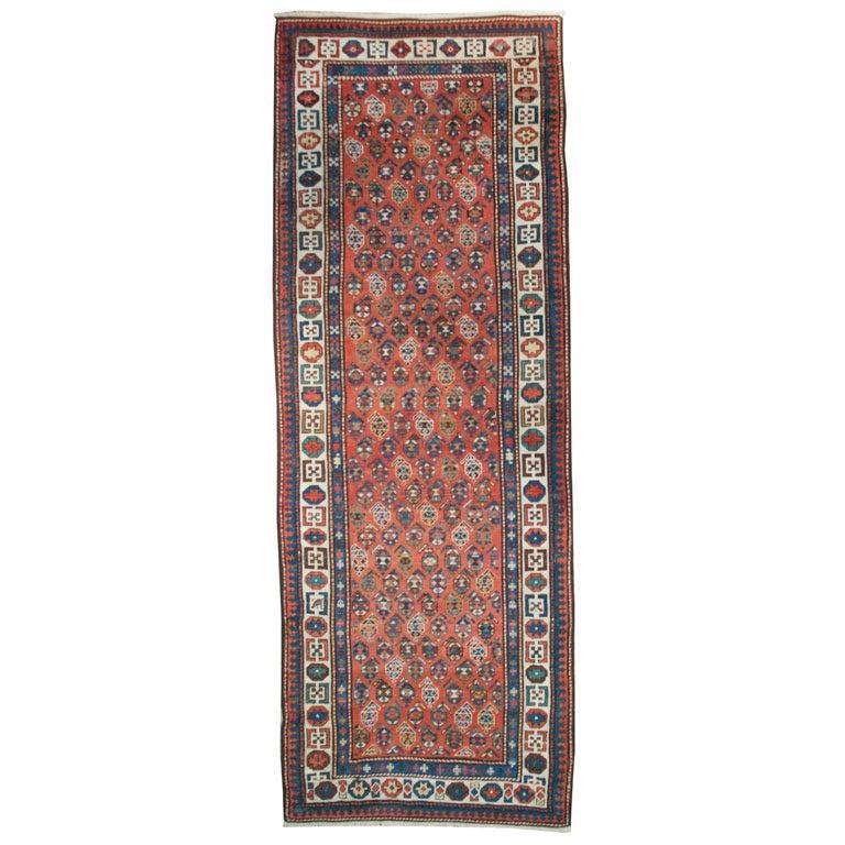 Antique Ganjeh Carpet Runner