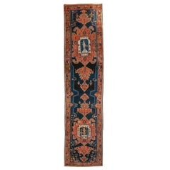 19th Century Persian Zanjan Carpet Runner
