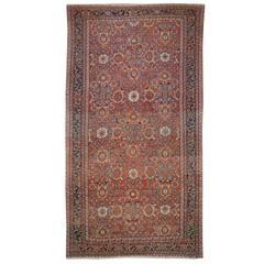19th Century Persian Sultanabad Carpet