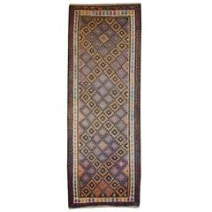 Persian Qazvin Kilim Carpet Runner