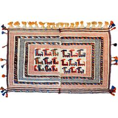 Whimsical 20th Century Afshar Horse Blanket