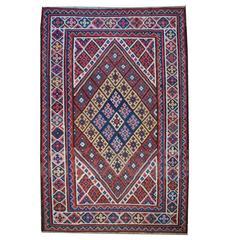 Antique Bakhtiari Kilim Rug