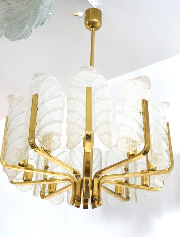 Hollywood Regency Style Chandelier, Carl Fagerlund for Oreffors, Sweden, 1960 In Excellent Condition In West Palm Beach, FL