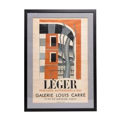 1940 Lithograph Poster by Ateliers Mourlot, Paris, F. Leger, French