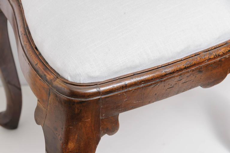 19th Century  Queen Anne Dining Chairs For Sale
