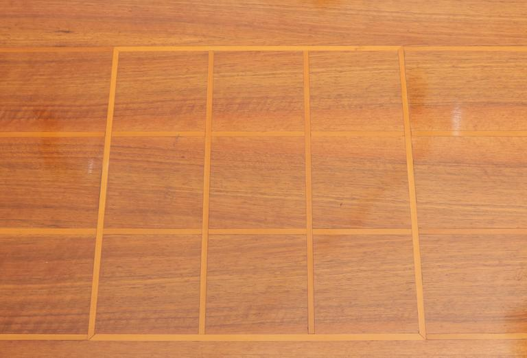 Mahogany Art Deco Dining Room Table For Sale