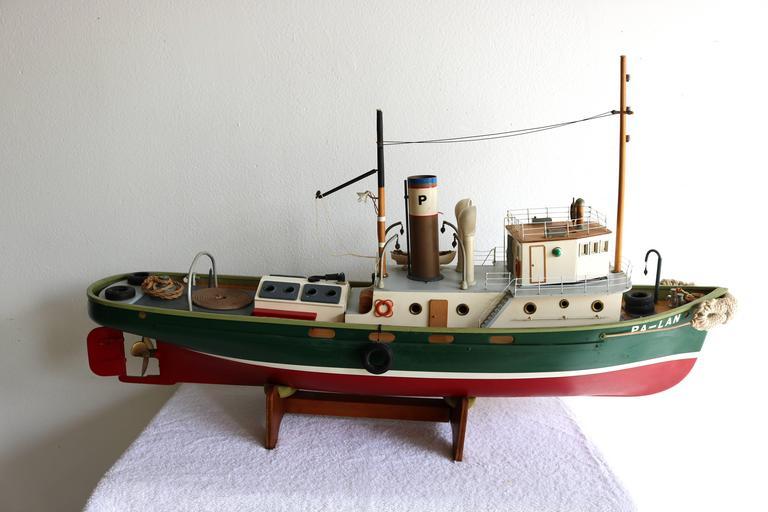 Carved Artisan Boat For Sale
