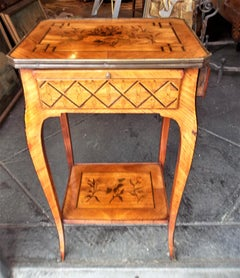 Louis Xv Transitional To Xvi Style Marquetry Table