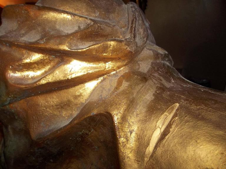 Madame Pompadour .Depicted as Large Gilt Sphinx 2