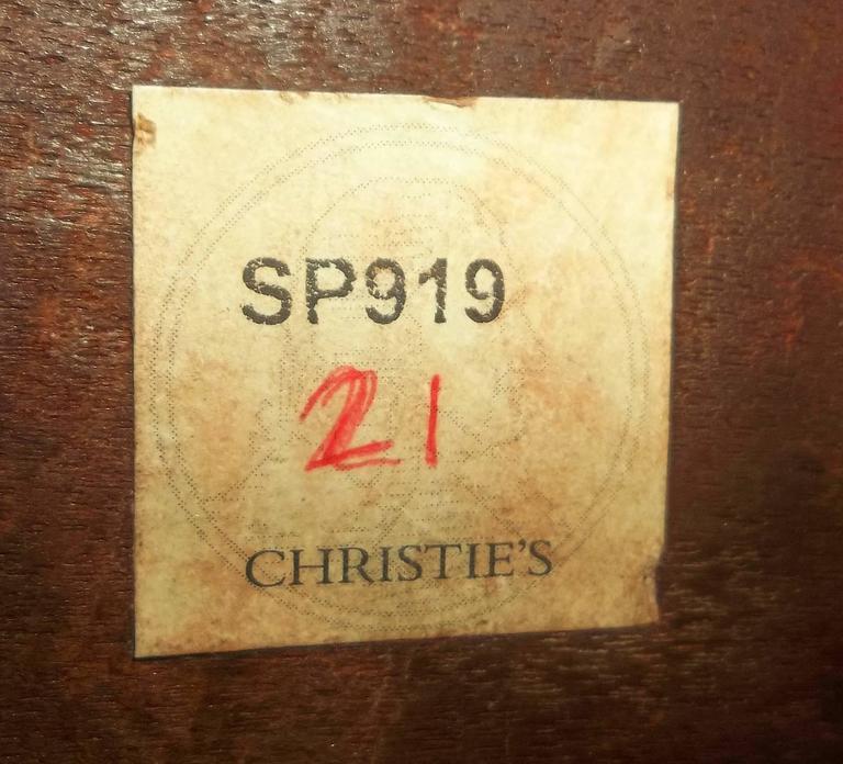 George I Burr Walnut and Walnut Bureau Bookcase For Sale 3