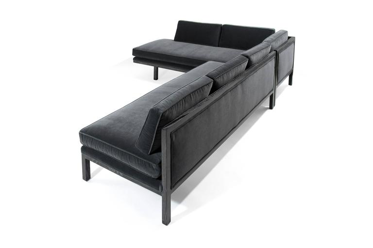Edward Wormley for Dunbar Sectional Sofa In Excellent Condition For Sale In Stamford, CT