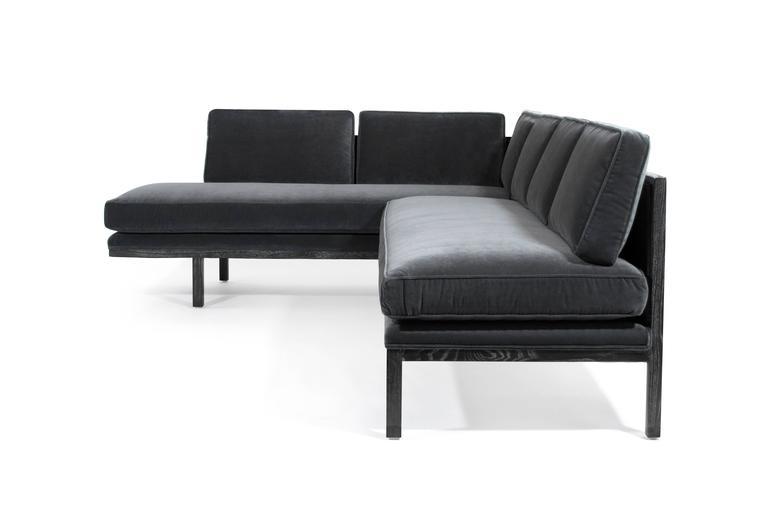 Mid-Century Modern Edward Wormley for Dunbar Sectional Sofa For Sale