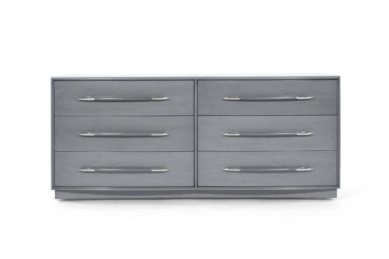 T.H. Robsjohn-Gibbings Dresser in Grey, circa 1956 3