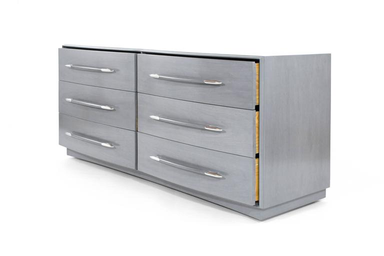 T.H. Robsjohn-Gibbings Dresser in Grey, circa 1956 4