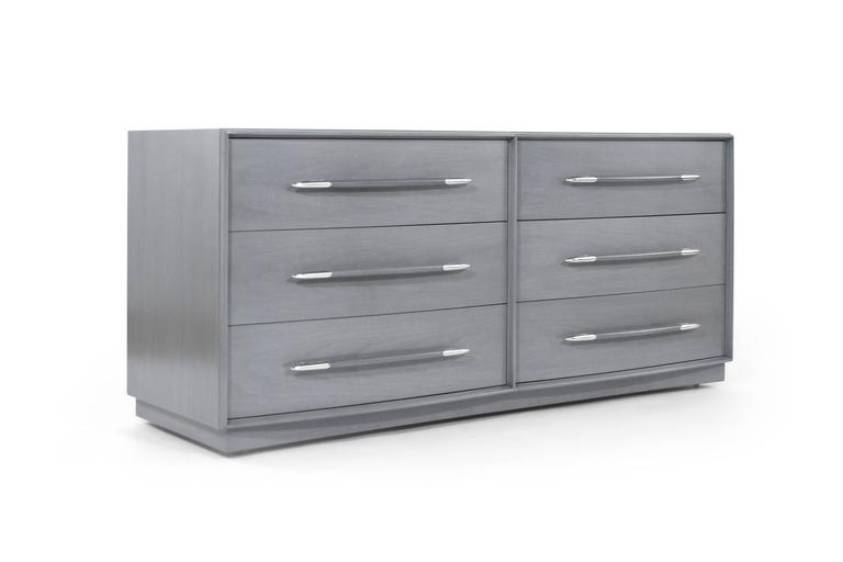 T.H. Robsjohn-Gibbings Dresser in Grey, circa 1956 2