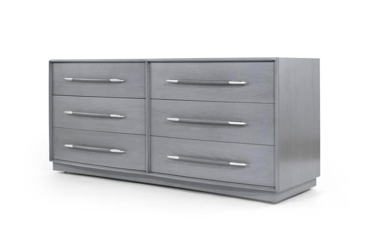 T.H. Robsjohn-Gibbings Dresser in Grey, circa 1956 5