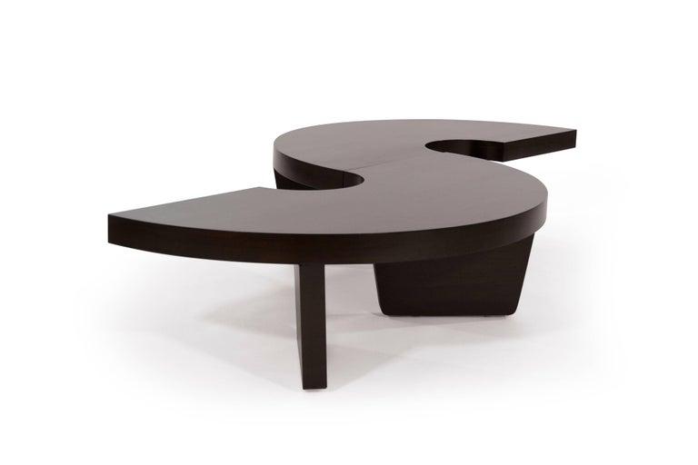 Mid-Century Modern Mahogany Harvey Probber Nucleus Coffee Table, 1952 For Sale