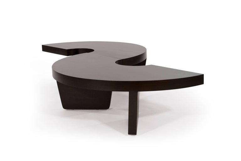American Mahogany Harvey Probber Nucleus Coffee Table, 1952 For Sale