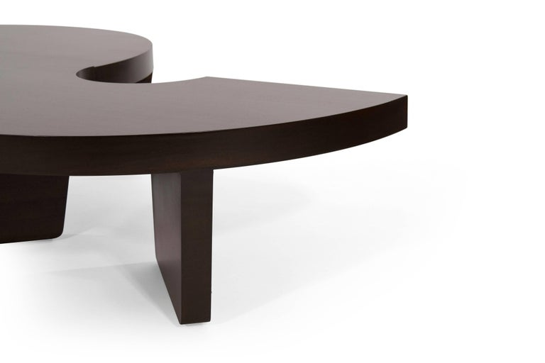 20th Century Mahogany Harvey Probber Nucleus Coffee Table, 1952 For Sale