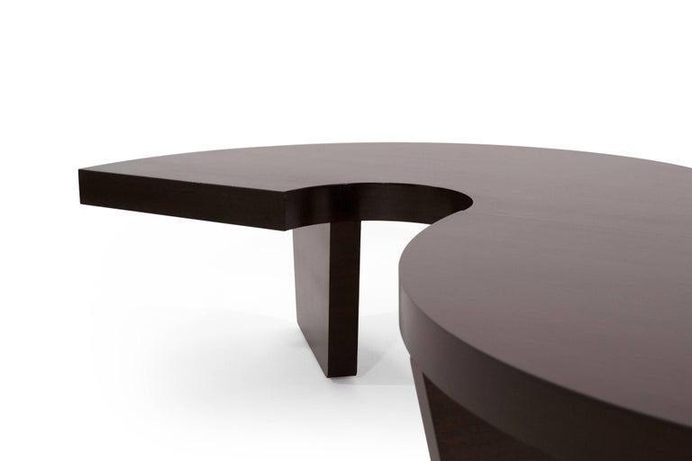 Mahogany Harvey Probber Nucleus Coffee Table, 1952 For Sale 1