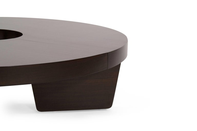 Mahogany Harvey Probber Nucleus Coffee Table, 1952 For Sale 2