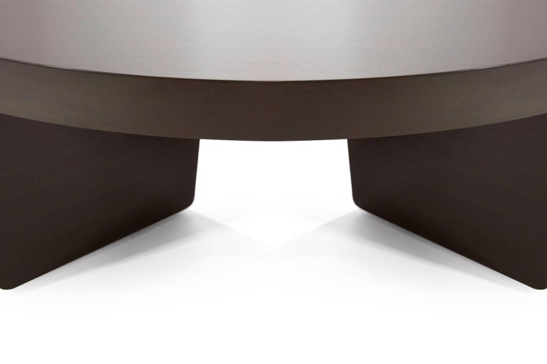 Mahogany Harvey Probber Nucleus Coffee Table, 1952 For Sale 3