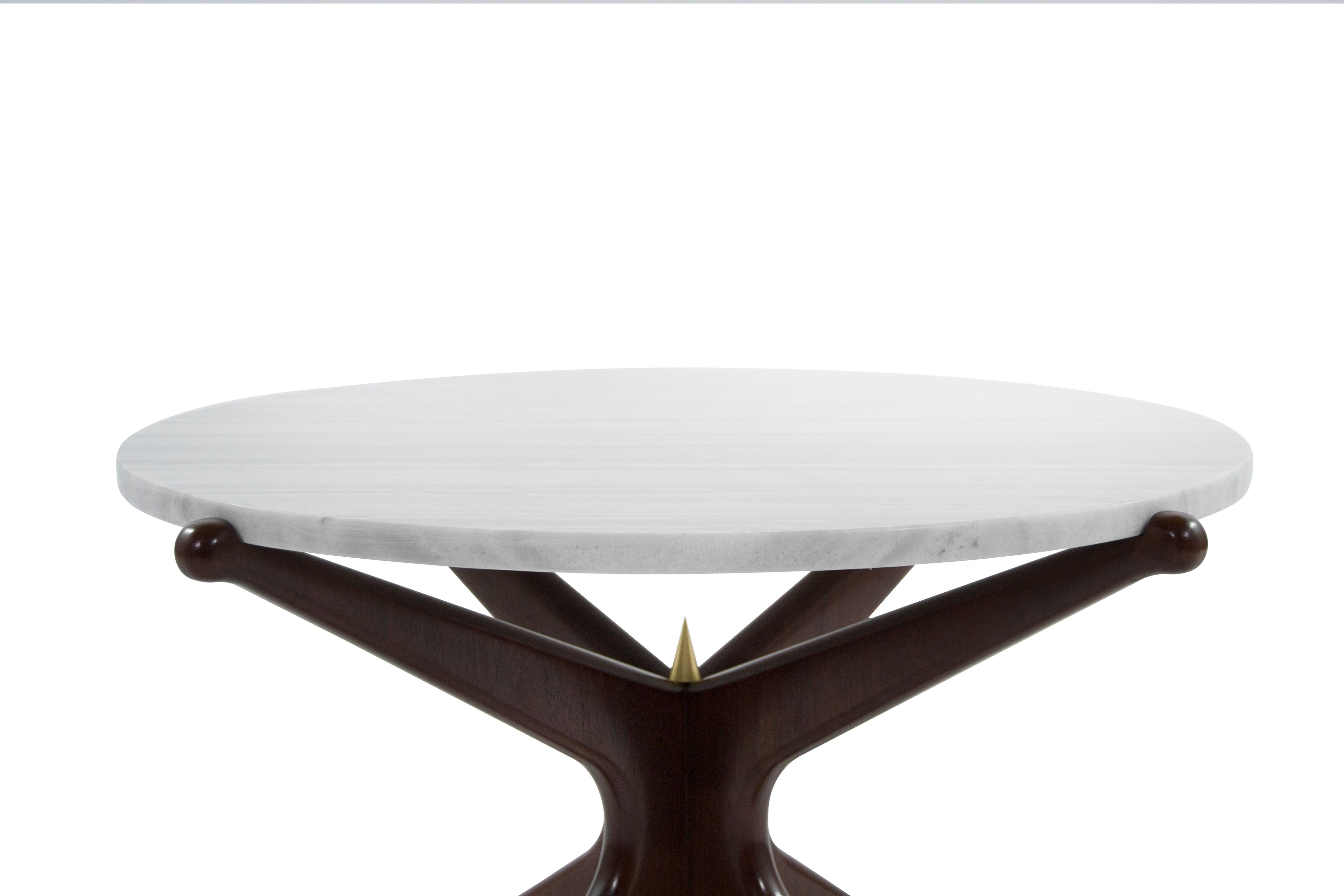 Coffee Table Modern Glass And Wood Contemporary Top Set Of Complementing Walnut Gazelle Tables For At 1stdibs