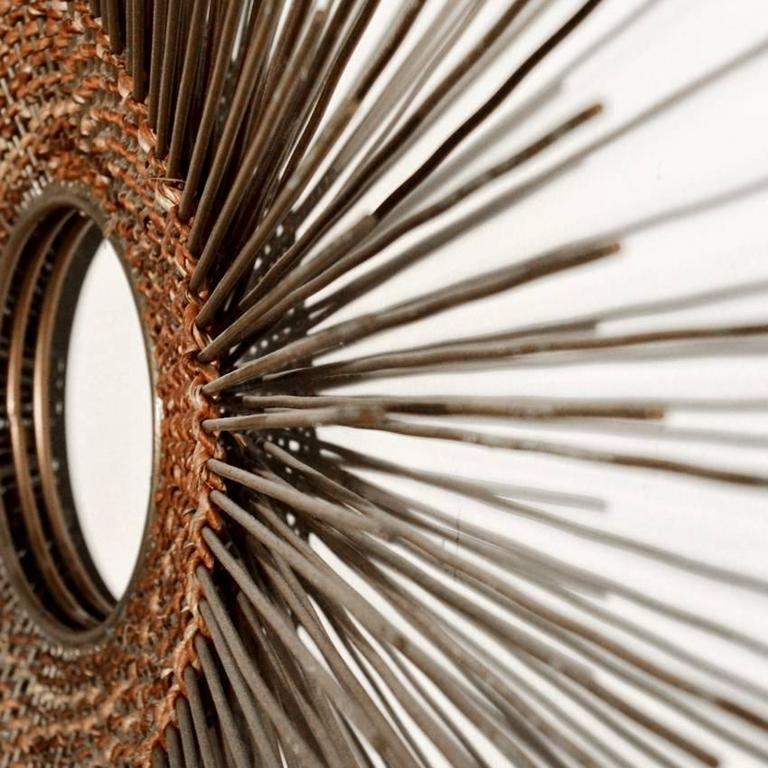 Woven Sunburst Wall Sculpture 5
