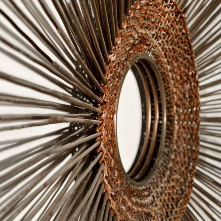 Woven Sunburst Wall Sculpture 8