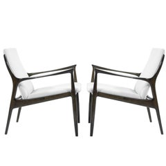 Lounge Chairs by Ib Kofod-Larsen